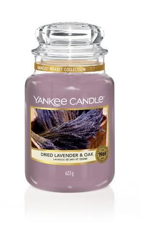 Yankee Candle Duftkerze «Dried Lavender & Oak» gross
