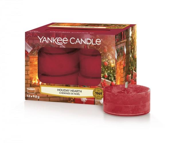 Yankee Candle Duftkerze «Holiday Hearth» Teelicht