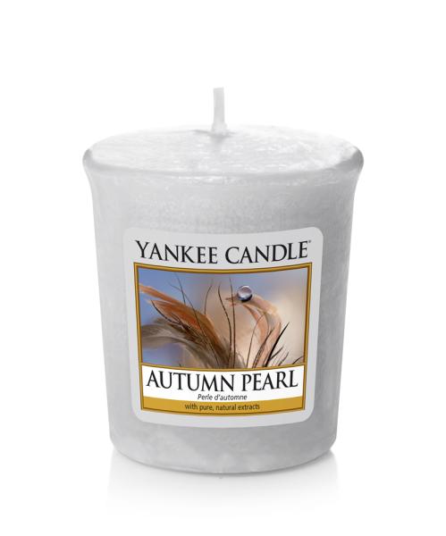 Yankee Candle Duftkerze «Autumn Pearl» Votivkerze