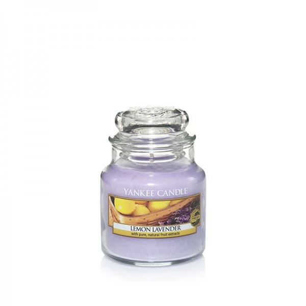 Yankee Candle Duftkerze «Lemon Lavender» klein (small Jar 104g)
