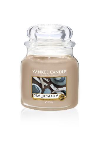 Yankee Candle Duftkerze «Seaside Woods» mittel