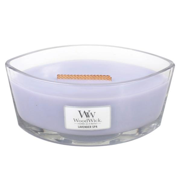 WoodWick Duftkerze «Lavender Spa» Ellipse