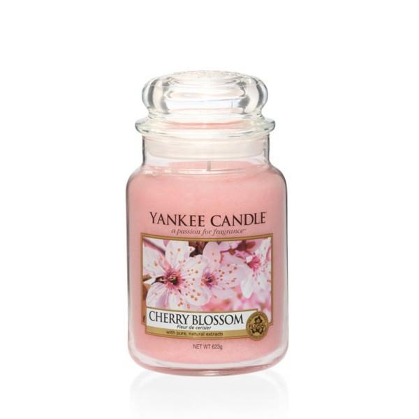 Yankee Candle Duftkerze «Cherry Blossom» gross (large Jar 623g)