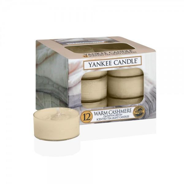 Yankee Candle Teelichter «Warm Cashmere» 12 Stück