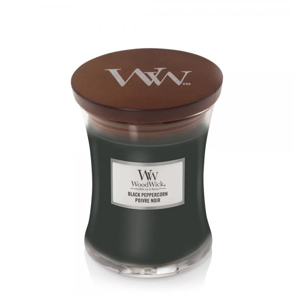 WoodWick Duftkerze «Black Peppercorn» mittel