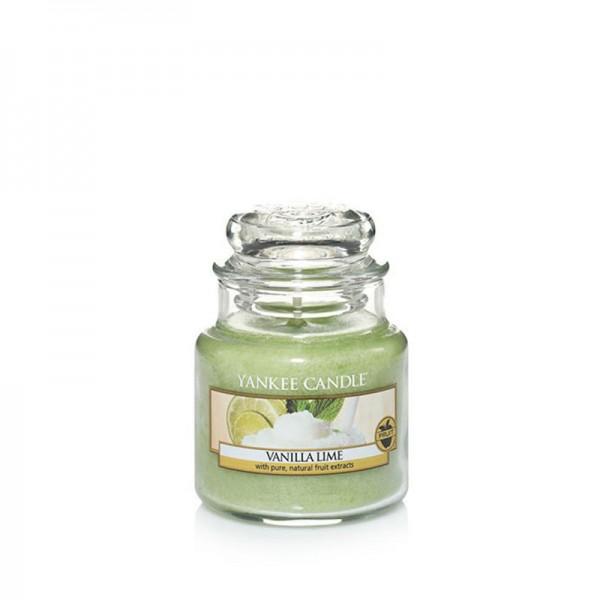 Yankee Candle Duftkerze «Vanilla Lime» klein (small Jar 104g)