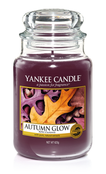 Yankee Candle Duftkerze «Autumn Glow» gross