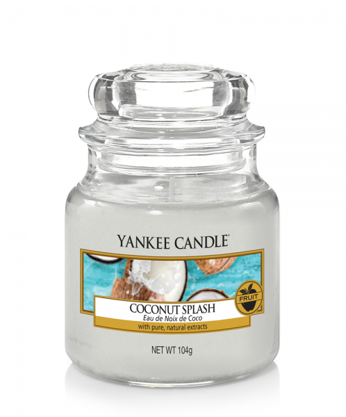 Yankee Candle Duftkerze «Coconut Splash» klein (small Jar 104g)