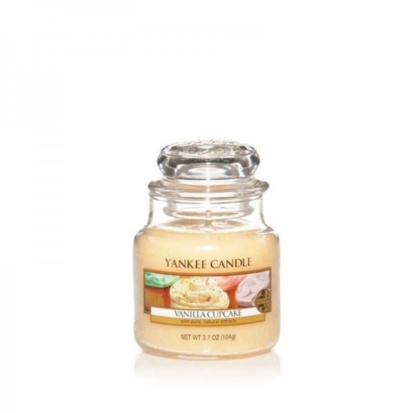 Yankee Candle Duftkerze «Vanilla Cupcake» klein (small Jar 104g)