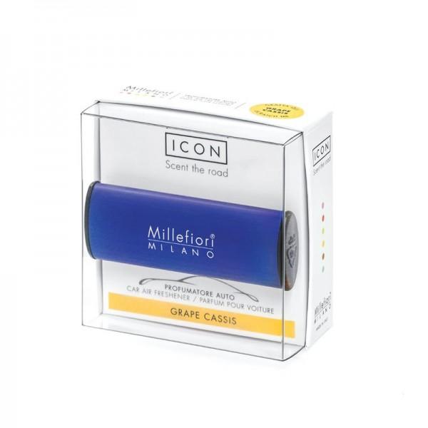 Millefiori Autoduft ICON Classic «Grape Cassis» Dunkelblau